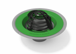 Alutec Elite Roof Outlet with Dome Grate