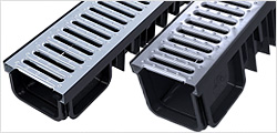XDrain B125 Galvanised Steel Grating