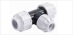 MDPE Compression Fittings WRAS APPROVED