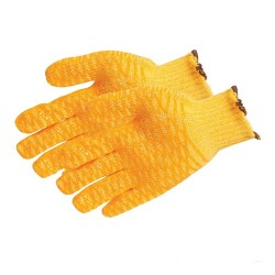 Yellow Gripper Gloves (pair) - One Size