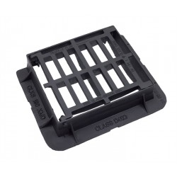 430x370x100 D400 Ductile Iron Gully Grate & Frame
