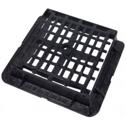 450x450x100 D400 Ductile Iron Mesh Gully Grate & Frame