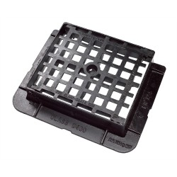 430x370x100 D400 Ductile Iron Mesh Gully Grate & Frame