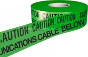 Communication Warning Tape Green x 265m