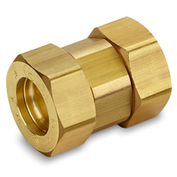 Gastite DN25 Coupling - Brass