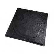 450mm Dia Round to Square Pedestrian Cover & Frame