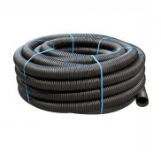 80mm Perforated Land Drain x 25m Coil