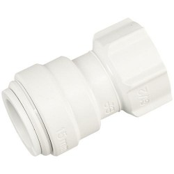 "22mm x 3/4"" hand tight tap connector"