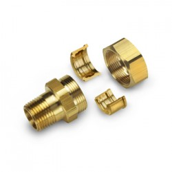 "Gastite DN25 x 1"" BSP Male Fitting Brass"