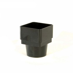 68mm Round to 65mm Square Downpipe Adaptor
