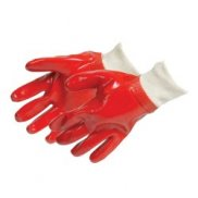 PVC Knit Wrist Gloves (pair) One Size