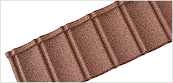 Textured Roof Tiles Broad Leaf brown