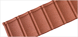 Textured Roof Tiles Brick Red