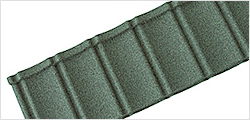 Textured Roof Tiles Green