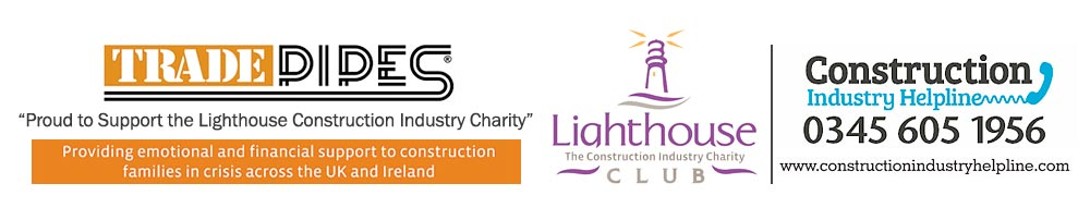 TRADE PIPES - Proud supporter of the Lighthouse Construction Industry Charity
